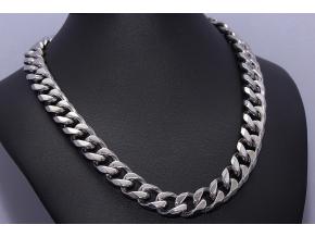 S0449 Masivní řetěz z chirurgické oceli 60cm/1,2cm