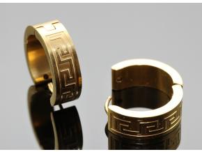 S2700 Kroužky GOLD 2 cm