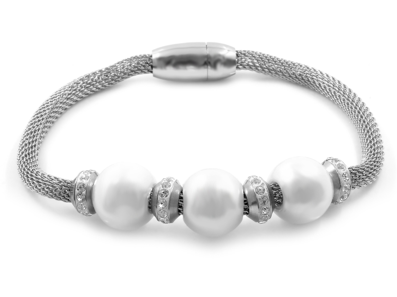 S1631 Dámský perlový náramek z chirurgické oceli
