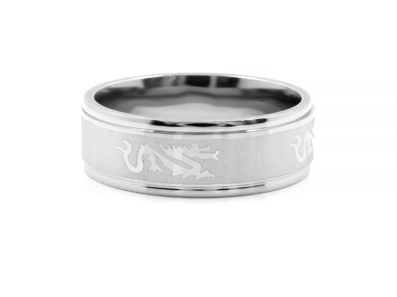 S1672 Prsten z chirurgické oceli Velikost: 7