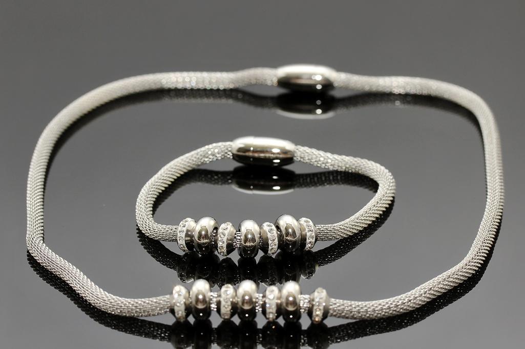 S2145 Souprava náhrdelník + náramek z chirurgické oceli