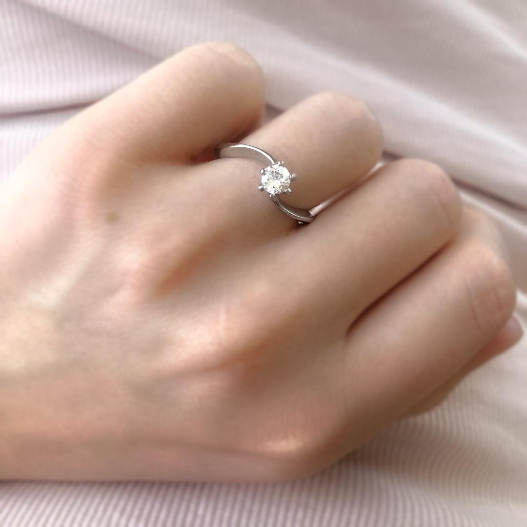 S2625 Krásný prsten s kamínkem Pohlaví: dámské, Velikost: 6