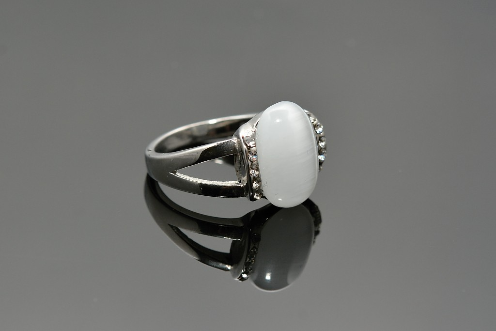 S0820 Prsten s magickým kamenem Pohlaví: dámské, Velikost: 7