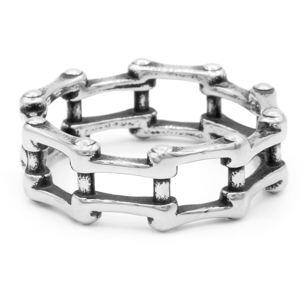 Levně S3185 Prsten ŘETĚZ II Velikost: 7