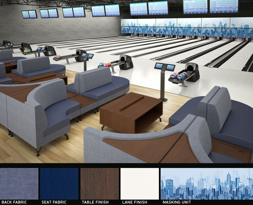 Bowlingové sezení CENTER STAGE
