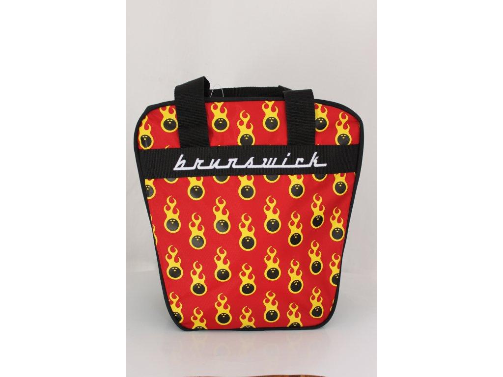 338 bowlingova taska na 1 kouli dyno single ball bag cerveno cena