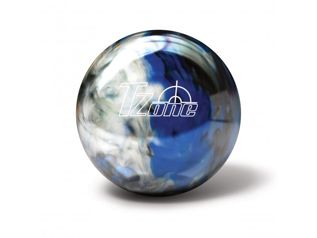 62 bowlingova koule t zone indigo swirl