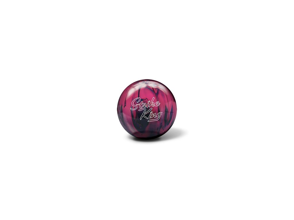 398 bowlingova koule strike king purple pink