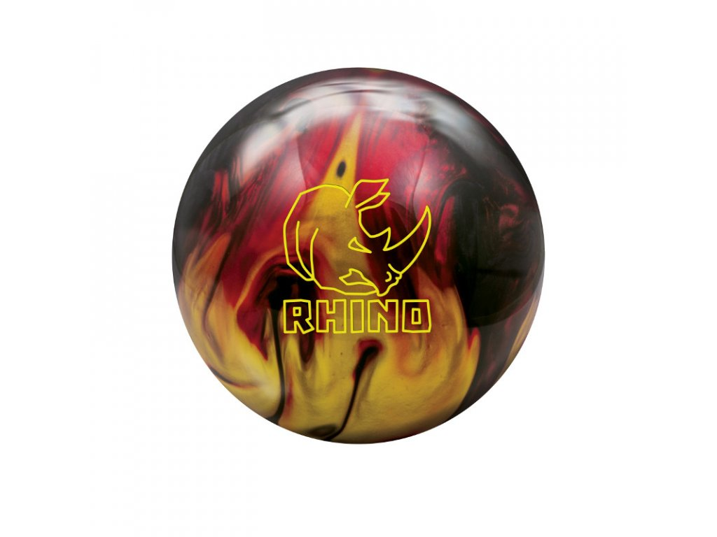 656 bowlingova koule rhino red black gold