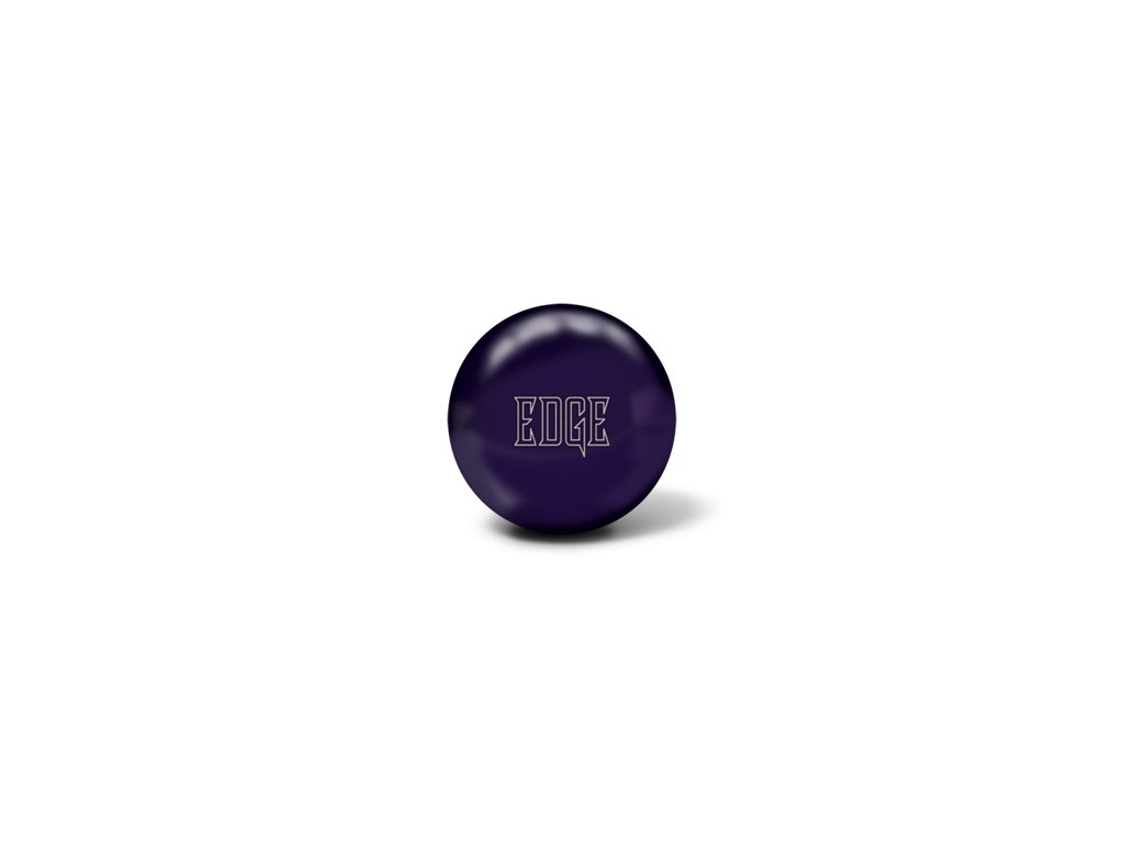 710 bowlingova koule edge dark purple solid