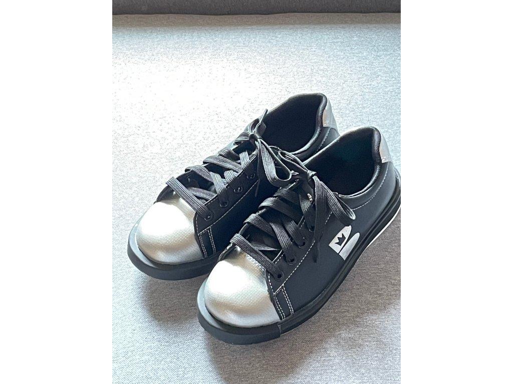 Bowlingové boty T Zone - black/silver