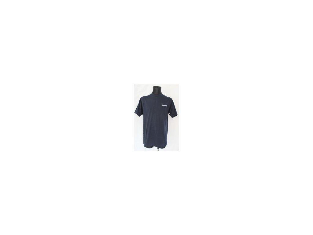 191 bowlingove triko roudneck t shirt navy