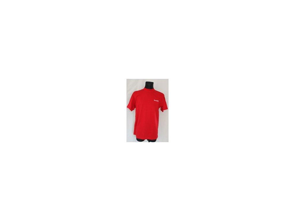 194 bowlingove triko roudneck t shirt red