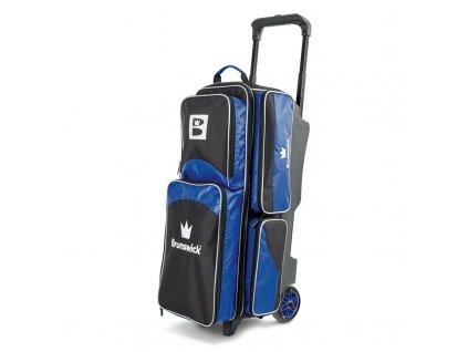 563 bowlingova taska na 3 koule edge roller blue