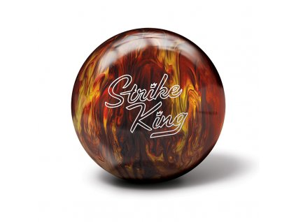 788 bowlingova koule strike king red gold