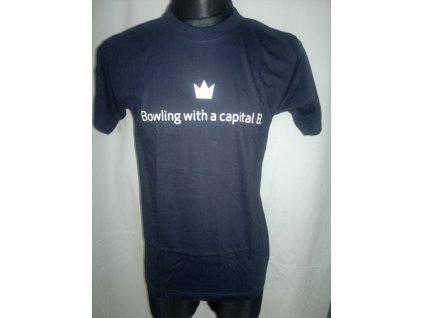 170 bowlingove triko brunswick b logo
