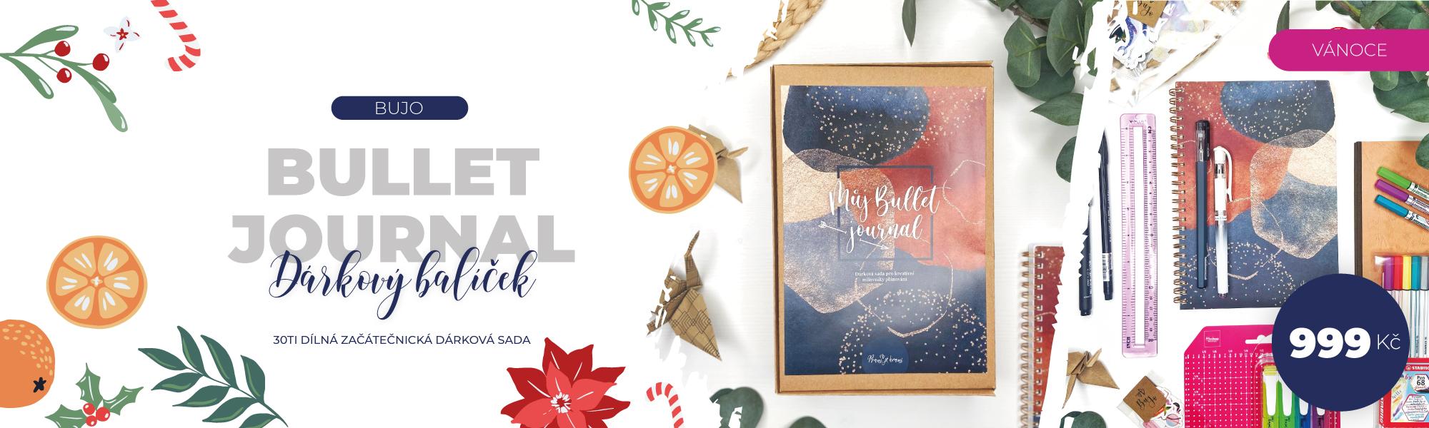 Dárkový balíček pro milovníky Bullet Journalu