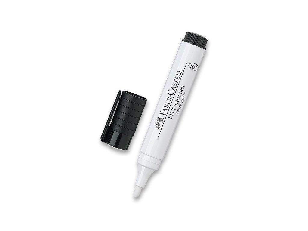 Popisovač Pitt Artist Pen – Bílý