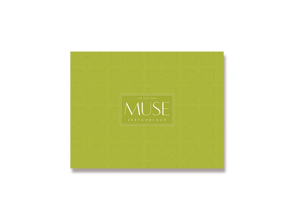 Muse sketchbook green