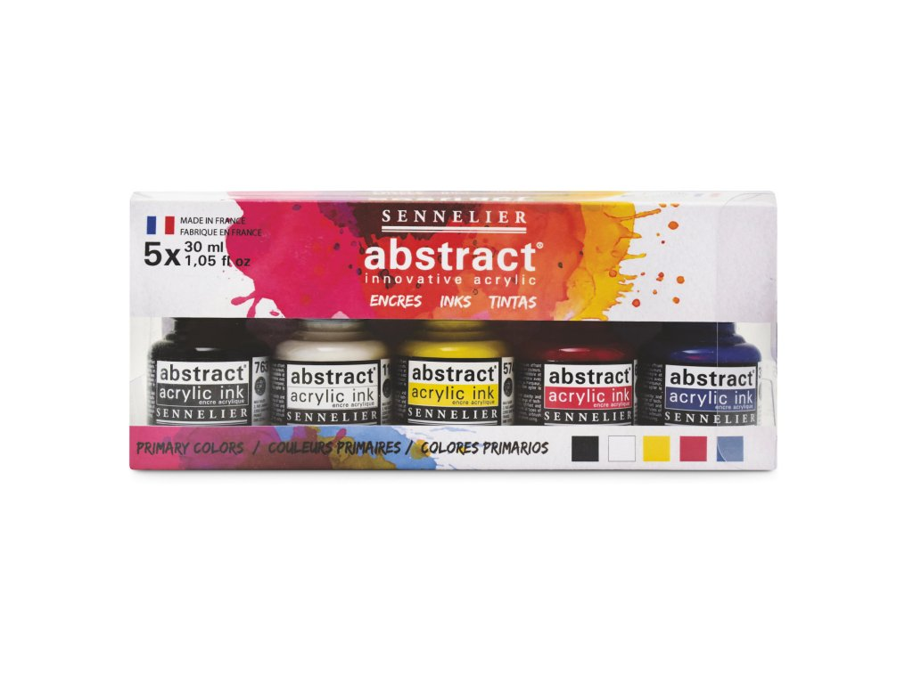 Sennelier abstract ink set5 01