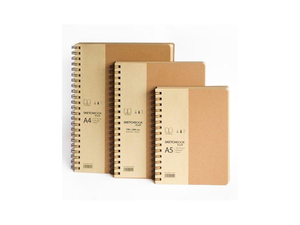 drasca sketchbook kraft A4 02