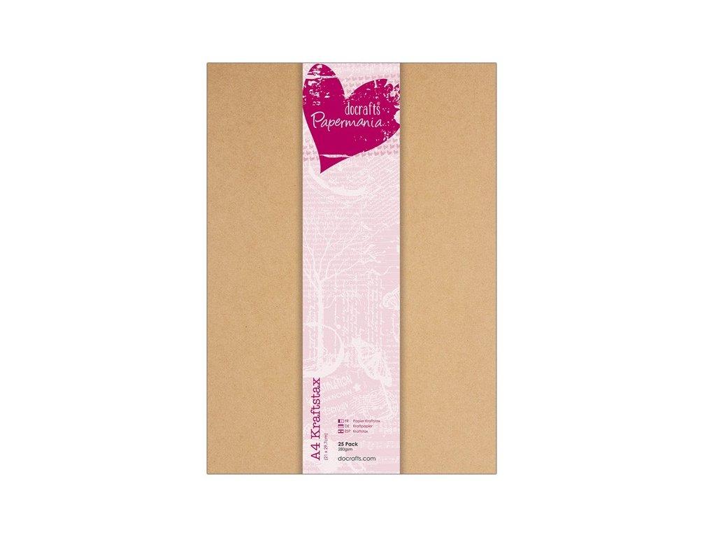 papiry A4 kraftstax