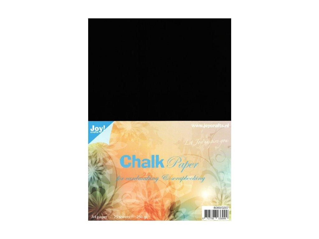 Chalk paper black - A4 (25ks)