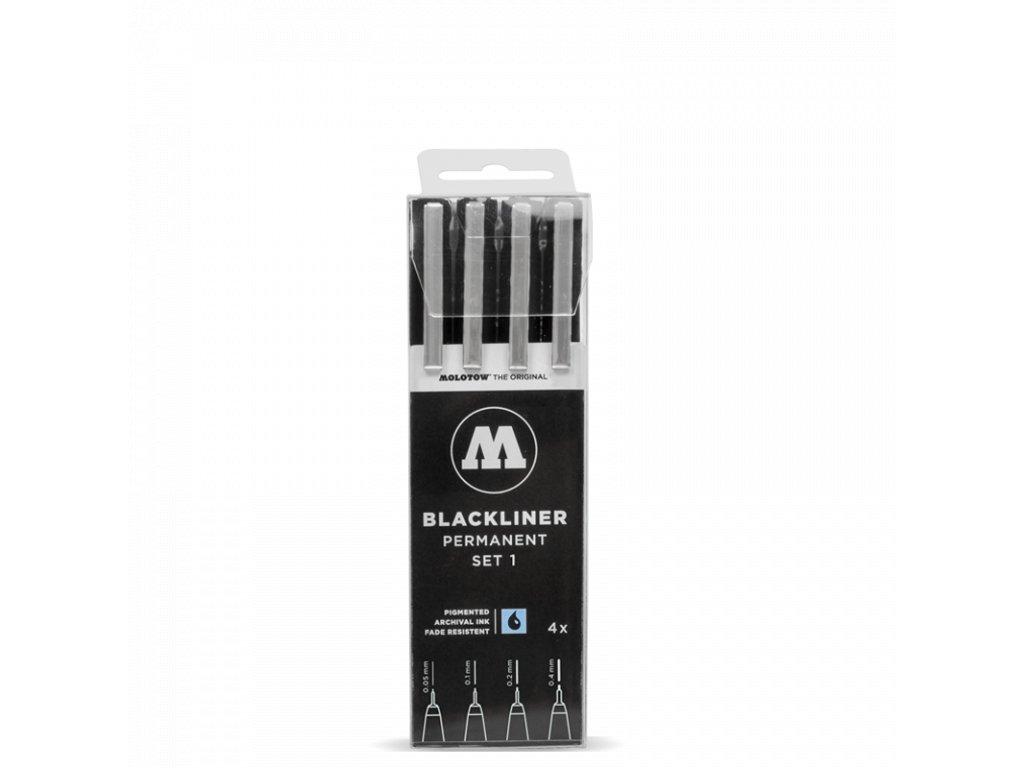 MOLOTOW™ Blackliner set 1