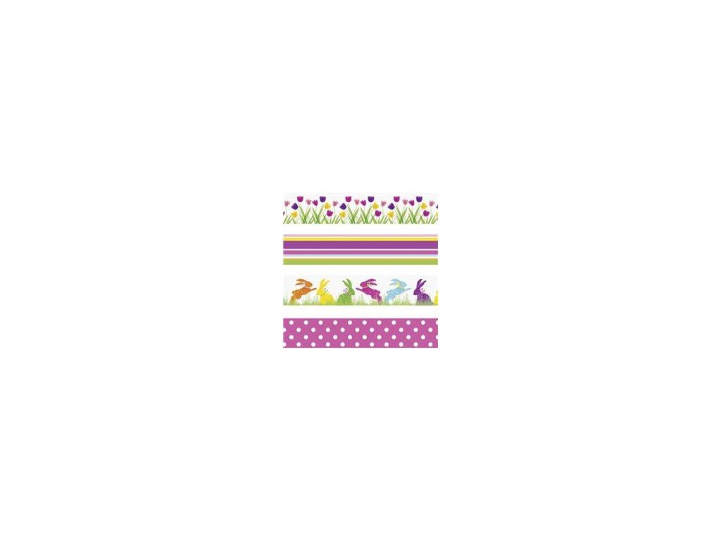 Washi páska - velikonoce (4ks)