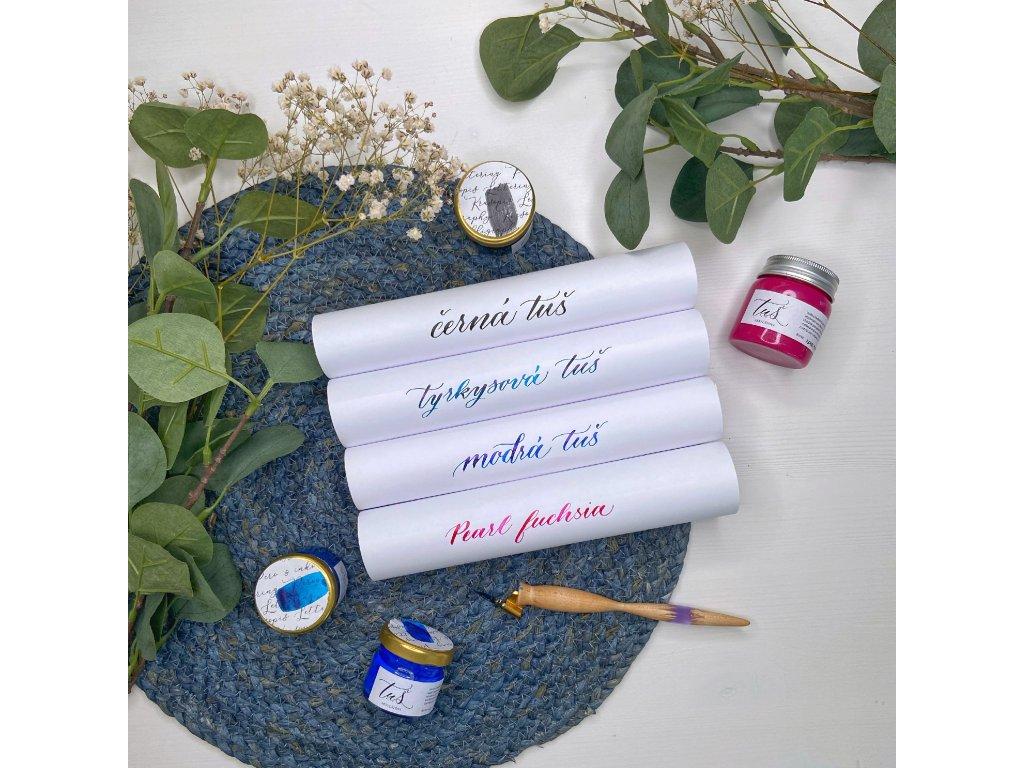 Akrylátová tuš 25 ml – výběr barev