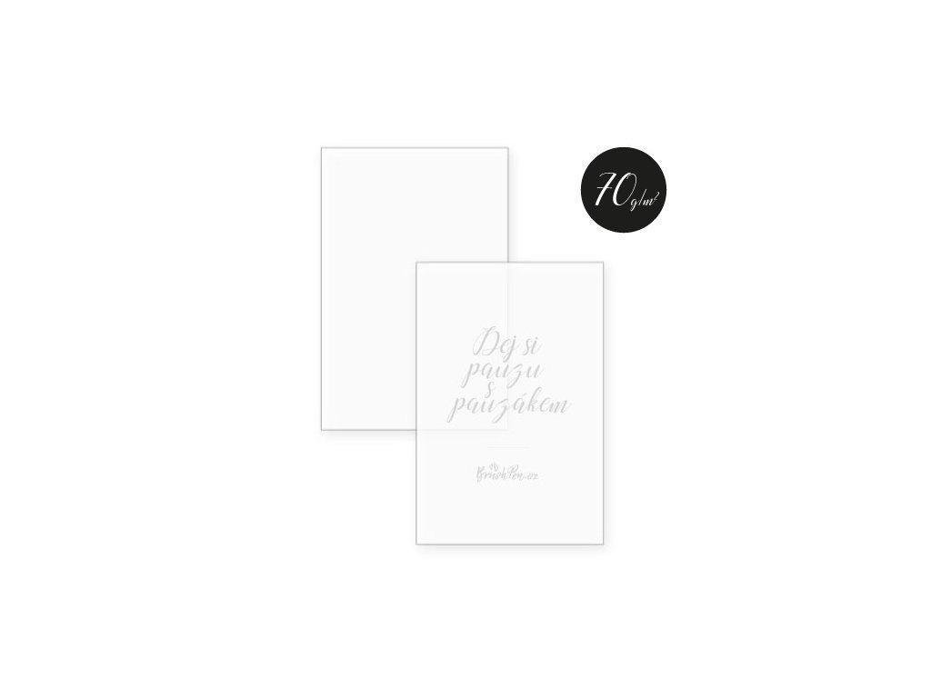 Pauzovací papír – A4