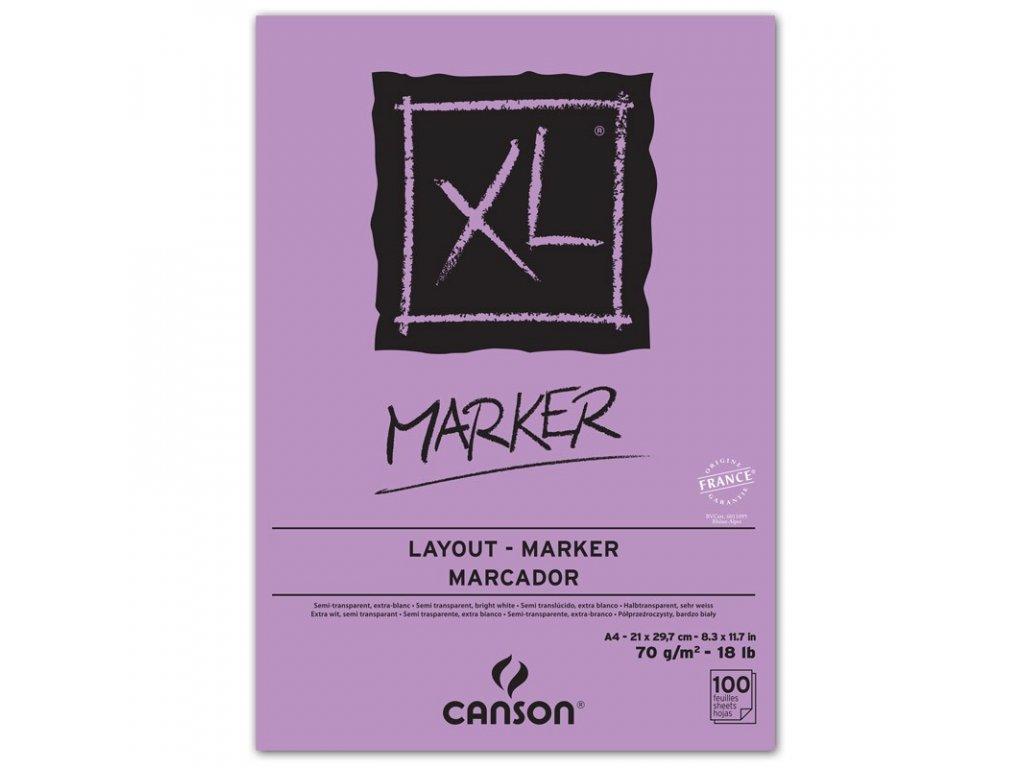 Skicák Marker XL – A4, A3