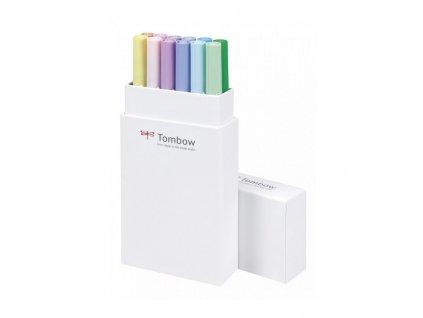 Tombow ABT dual brush pen – Dárková sada Pastels