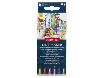 Derwent LINE MAKER Colour – sada