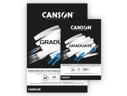 Canson graduate black 01