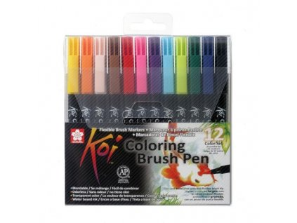 Koi Coloring Brush Pen – sada