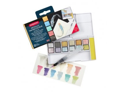 dervent mettalic paint set 01