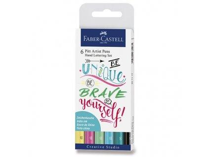 Pitt Artist Pen Hand Lettering set 6 ks – Pastel