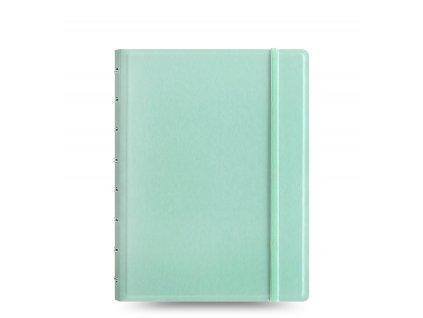 filofax classic notebook a5 aqua front 1
