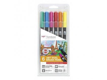 Tombow ABT Dual Brush pen - sada Dermatologically tested
