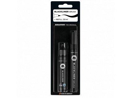 BlackLiner Brush MARKER + 30ML REFILL KIT