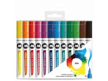 Molotow Aqua Color Brush – Basic set