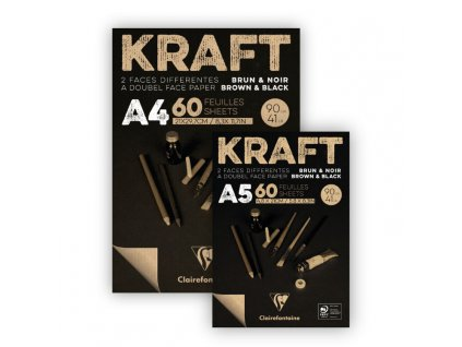 Kraft black image