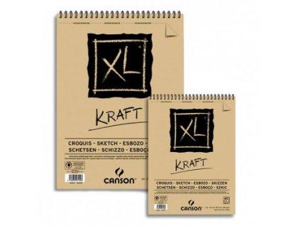 Skicák Kraft XL – A4, A5