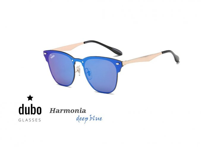 Dubo Glasses - Harmonia (deep blue)