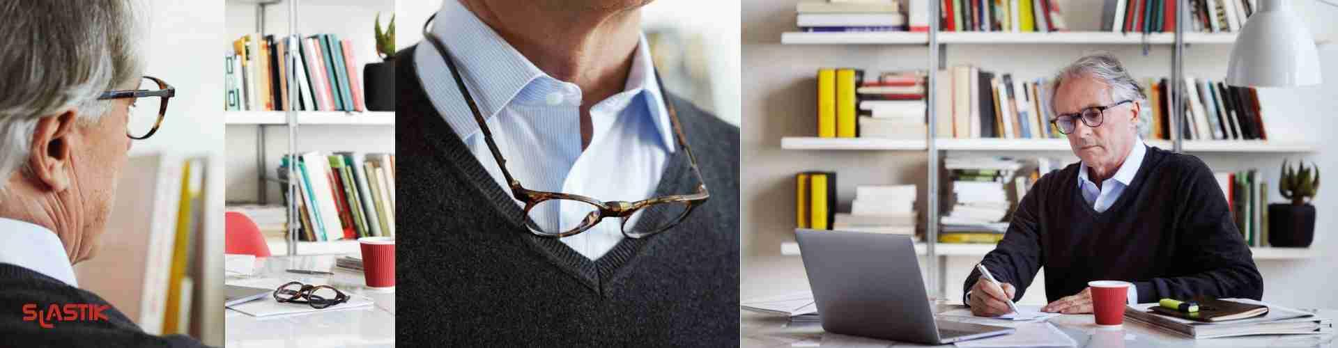 Brýle na čtení s magnetem Slastik