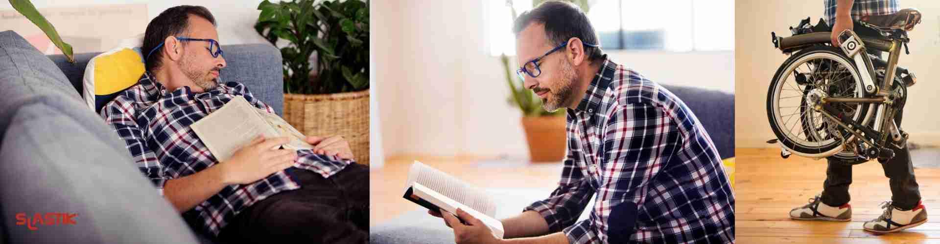 Brýle na čtení Slastik brýle na magnet