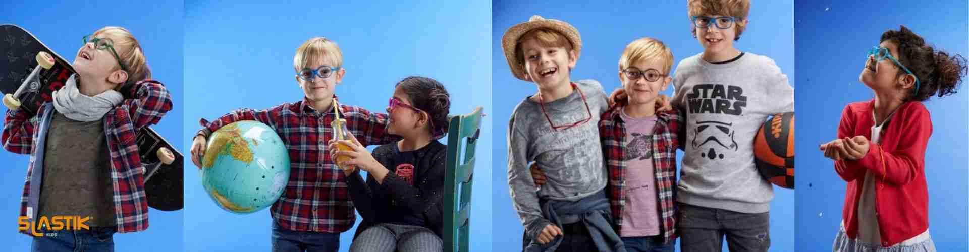 Dětské dioptrické brýle na magnet Slastik