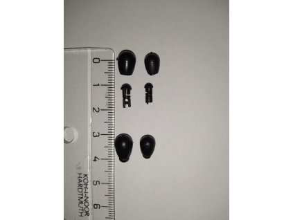 Rychlovýměnný gumový korálek (vyberte variantu velikost L - 12mm)