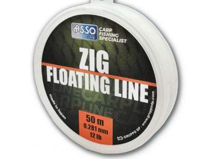 zig floating line